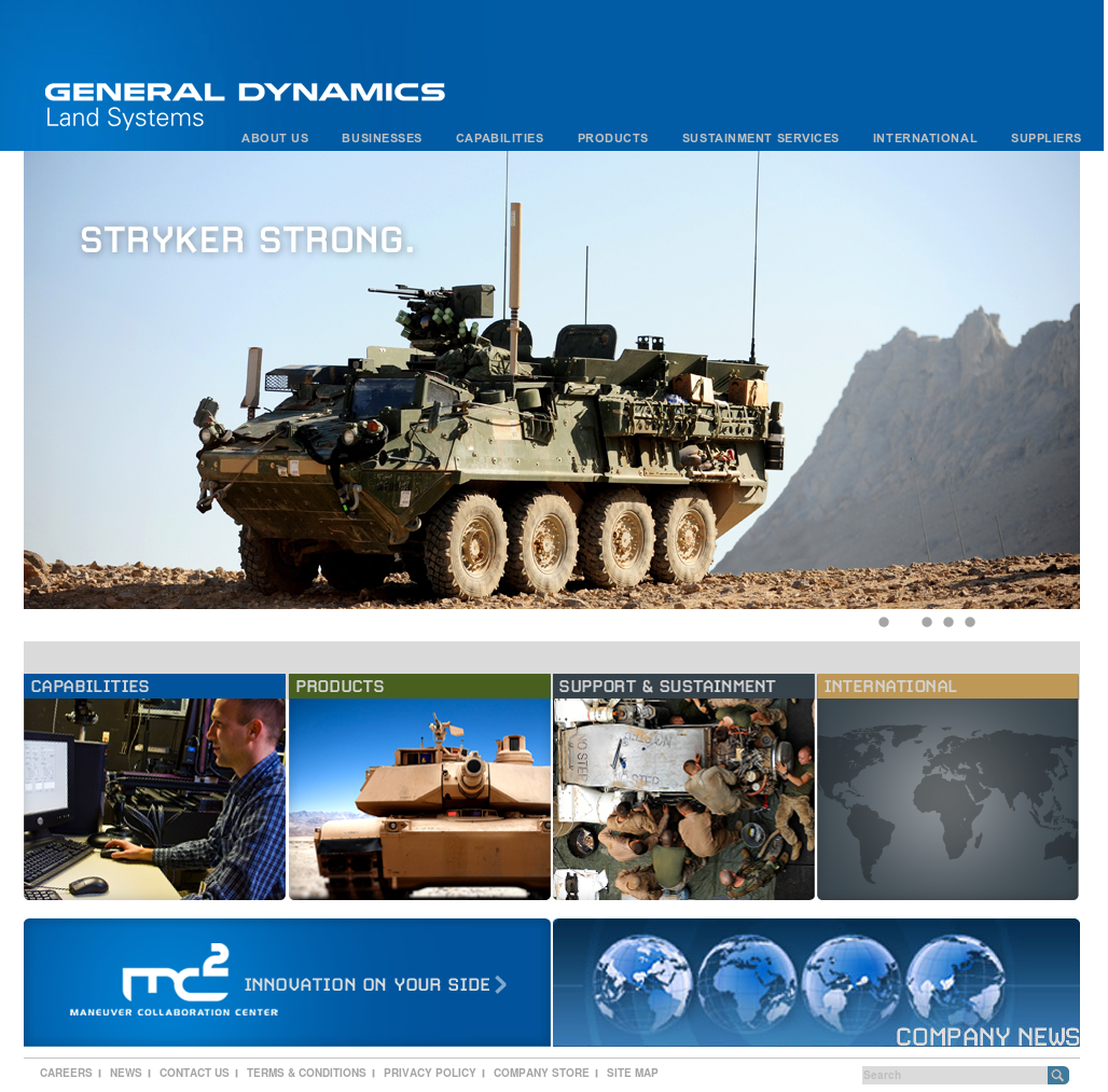 General Dynamics Land Systems Competitors, Revenue and