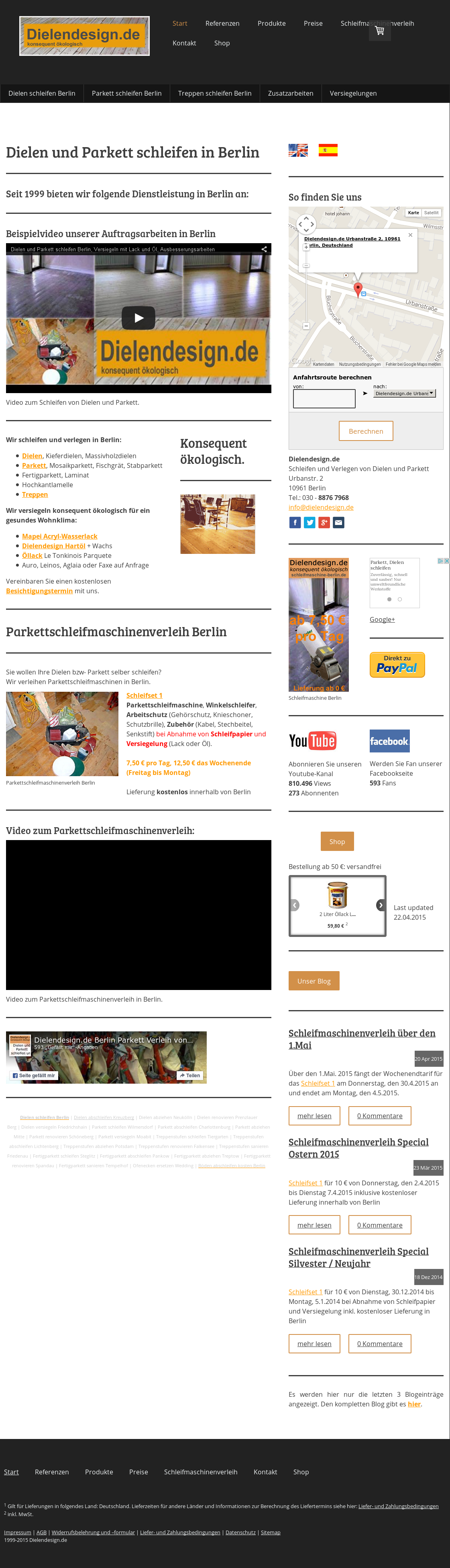 Owler Reports Dielendesign De Berlin Parkett Verleih Von