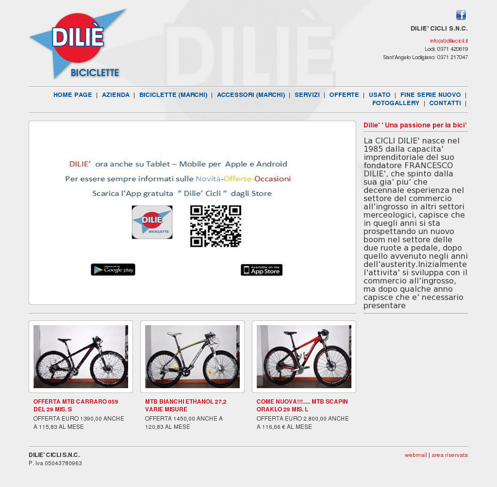 Dilie\' Cicli Snc Competitors, Revenue and Employees - Owler Company ...