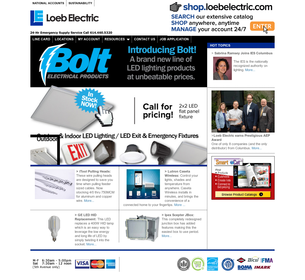The Loeb Electric website history  sc 1 st  Owler & The Loeb Electric Competitors Revenue and Employees - Owler Company ...