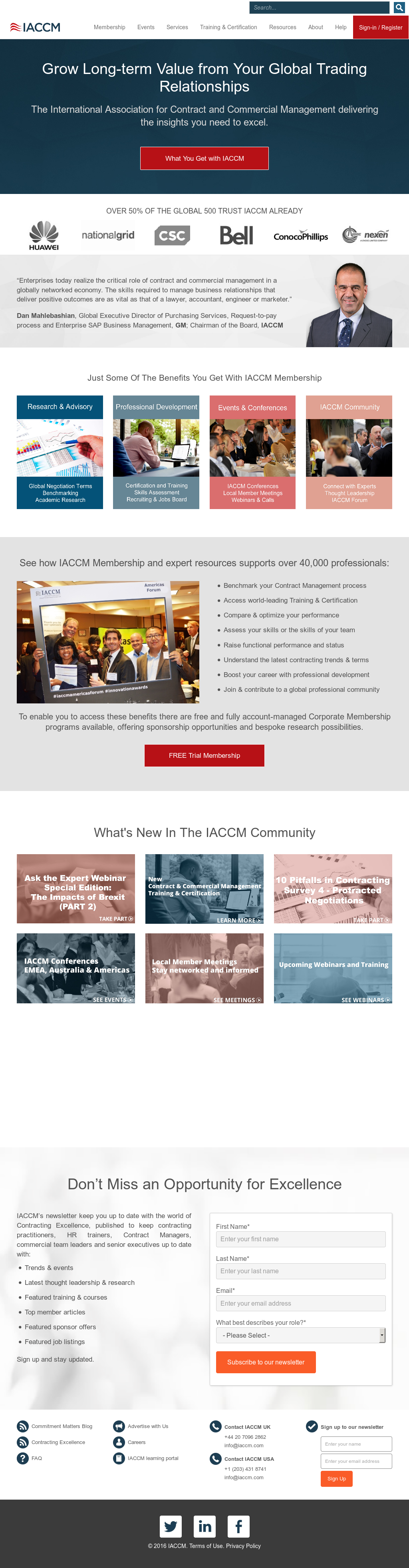 Iaccm Competitors Revenue And Employees Owler Company Profile
