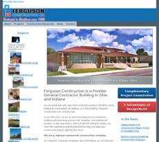 Ferguson Construction website history