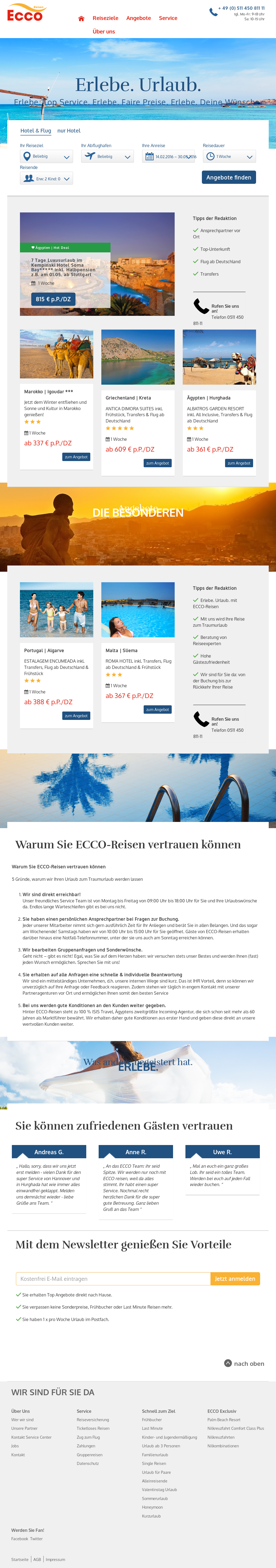 reputable site 1f737 8859f Ecco Reisen Competitors, Revenue and Employees - Owler ...