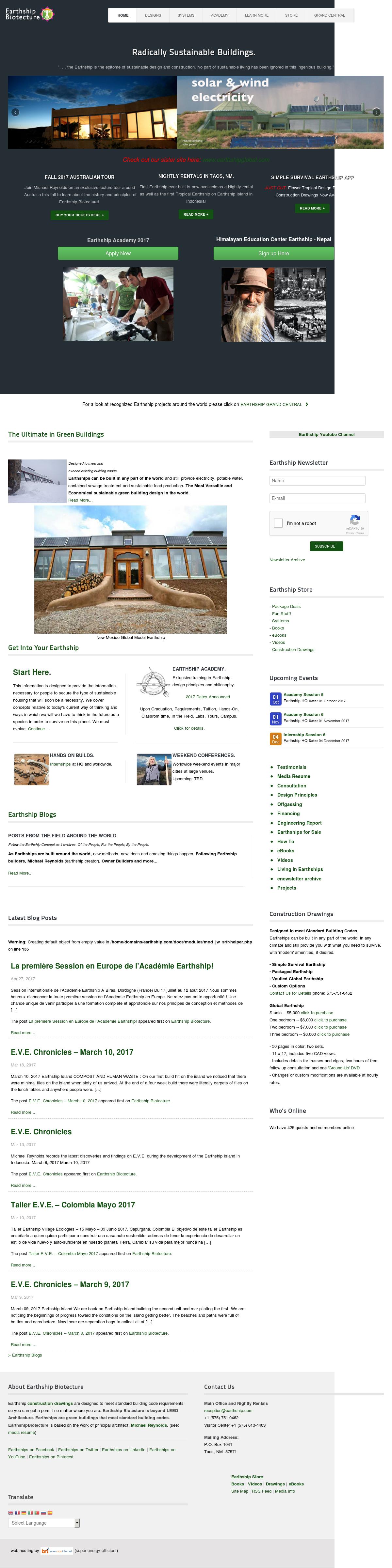 Earthship dating sites katsella äärimmäinen dating 2005
