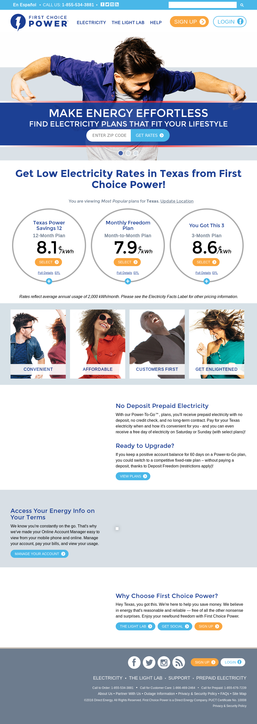 Direct Energy Pay As You Go >> First Choice Power Competitors Revenue And Employees