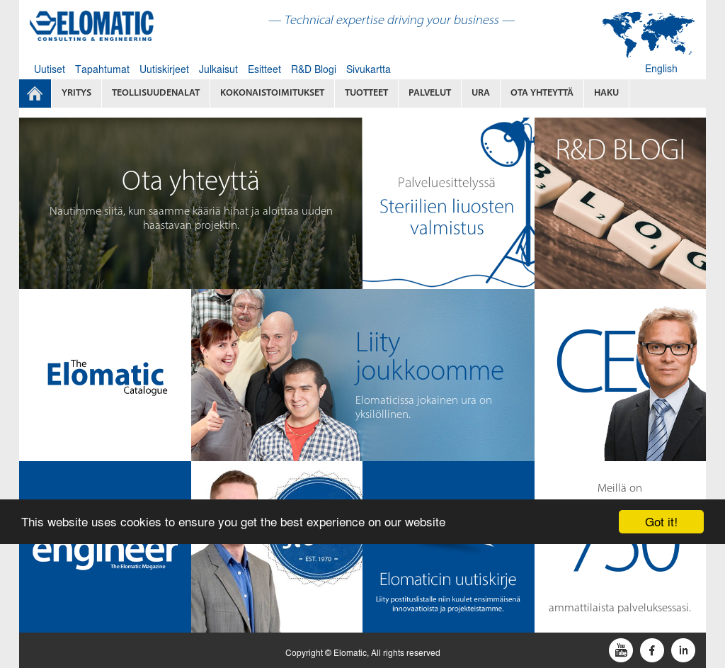 Elomatic Competitors, Revenue and Employees - Owler Company Profile