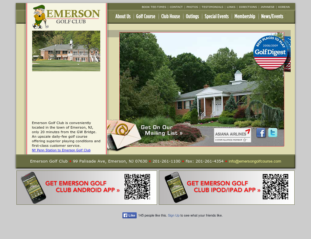 Emerson Golf Club Competitors, Revenue and Employees - Owler