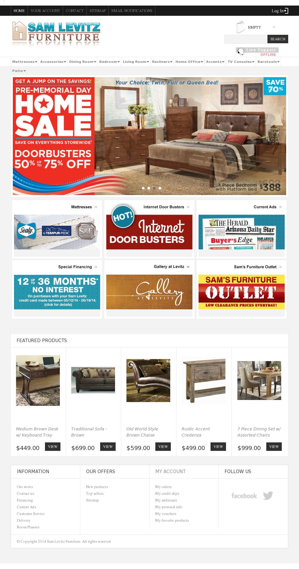 Sam Levitz Furniture Competitors Revenue And Employees