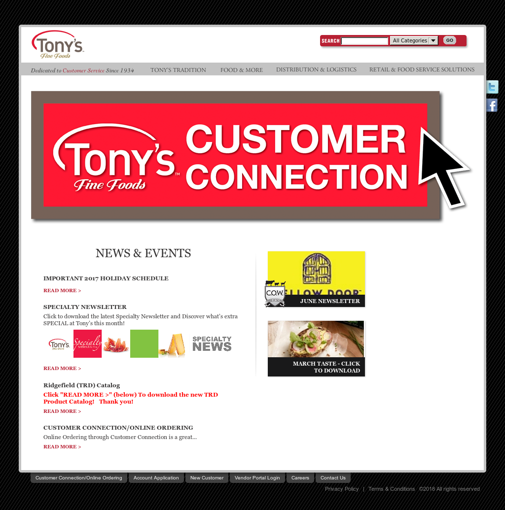 Tony's Fine Foods Competitors, Revenue and Employees - Owler Company