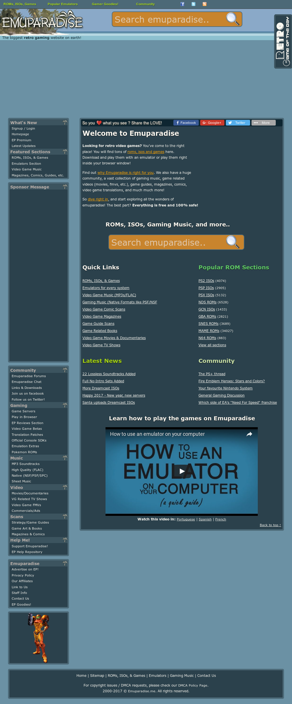Emuparadise Competitors, Revenue and Employees - Owler