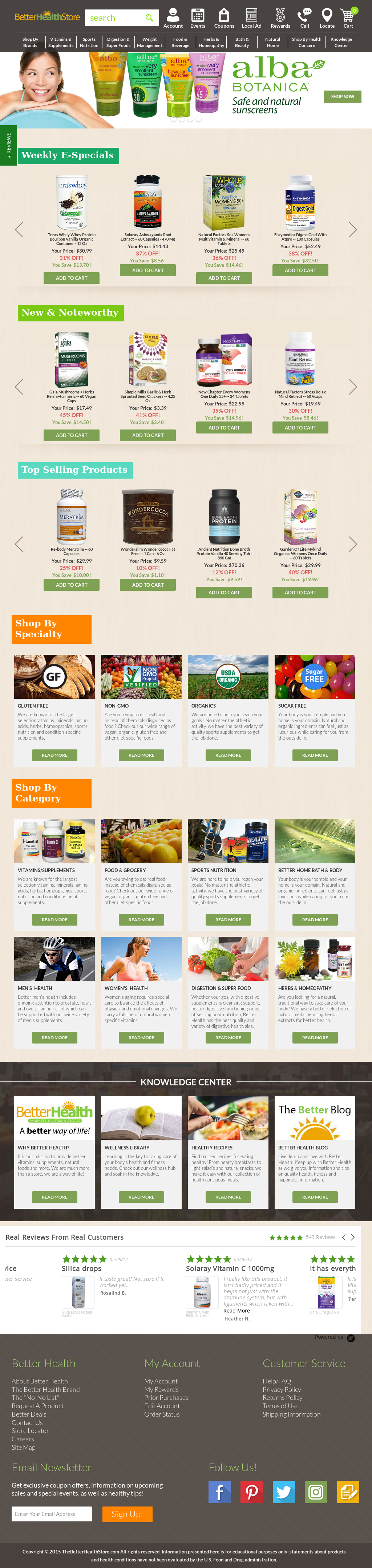 Thebetterhealthstore Competitors, Revenue and Employees
