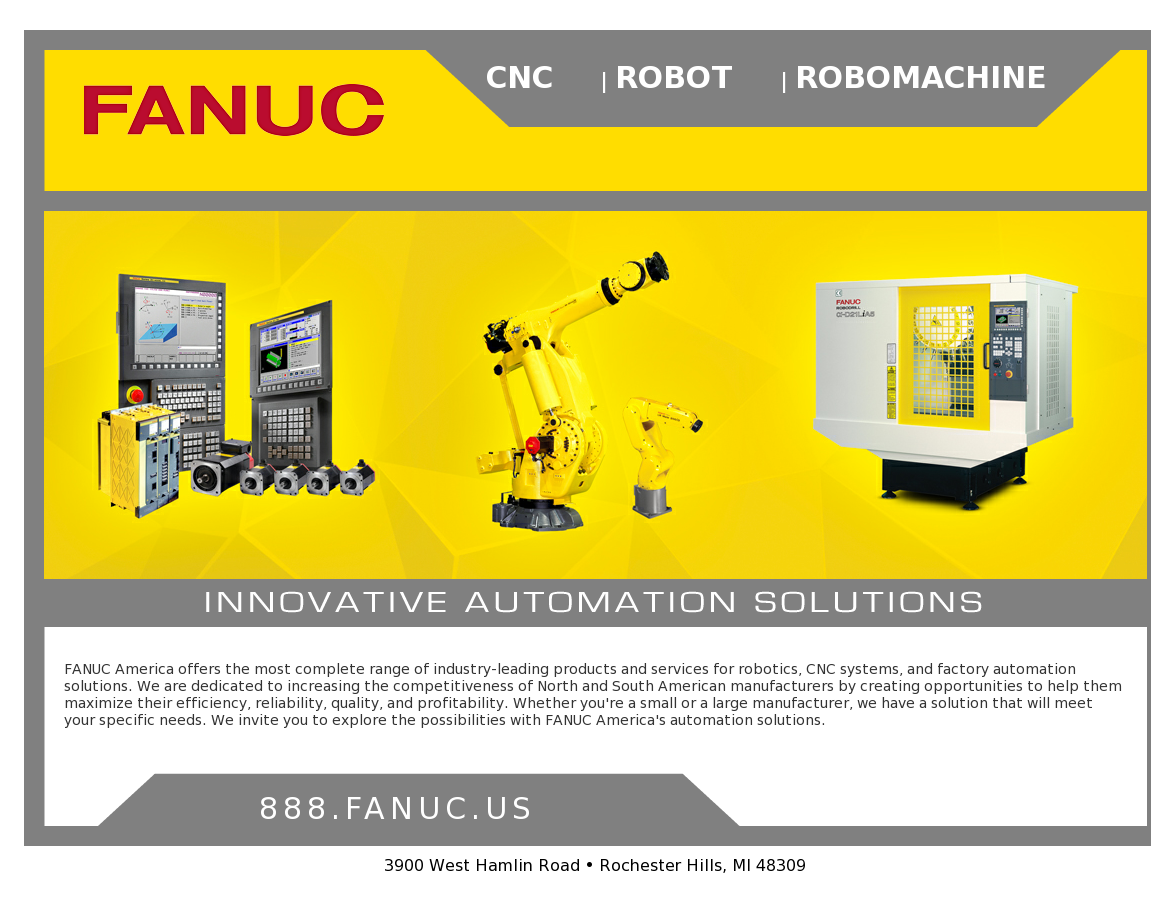 FANUC America Competitors, Revenue and Employees - Owler