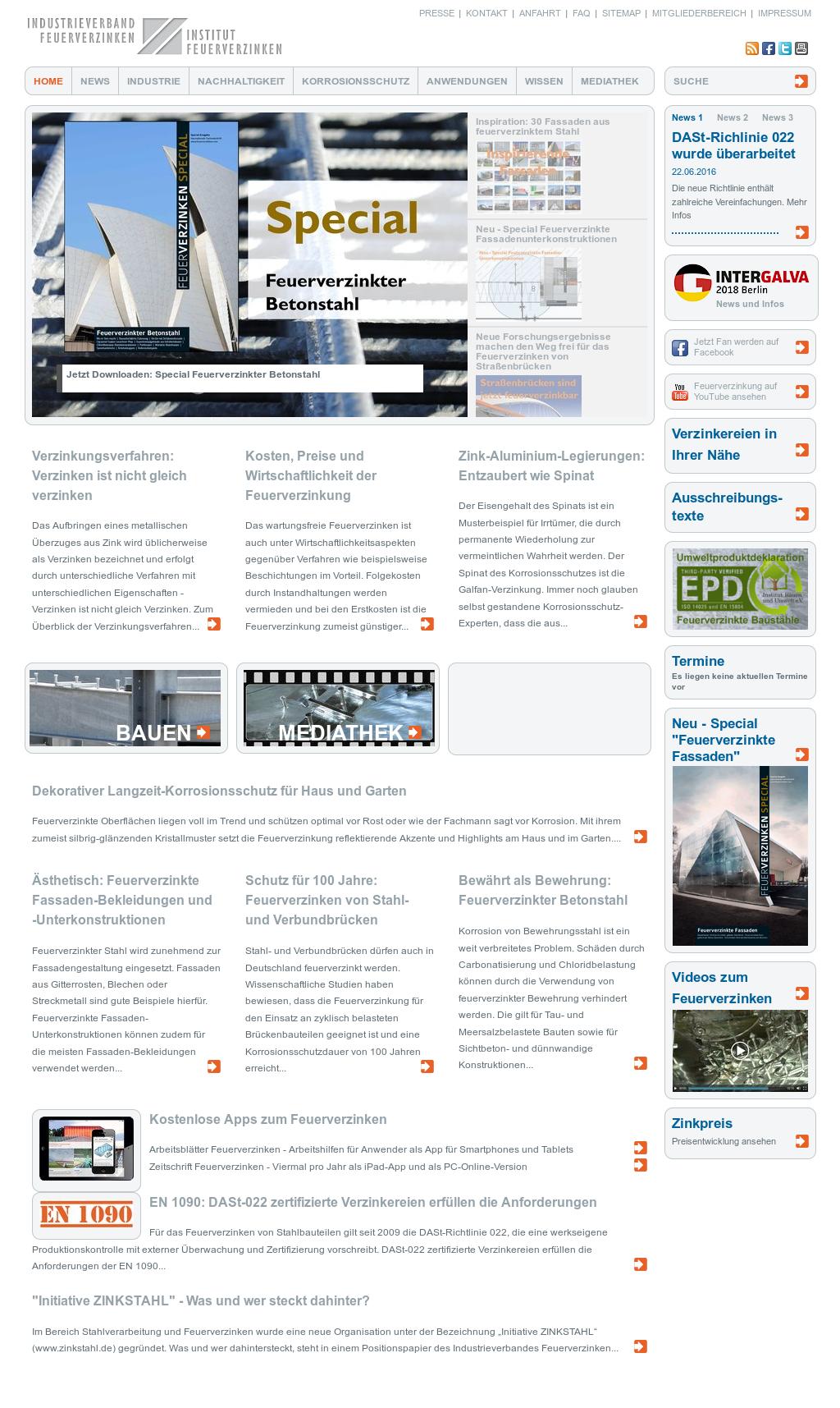 Industrieverband Feuerverzinken / Institut Feuerverzinken ...
