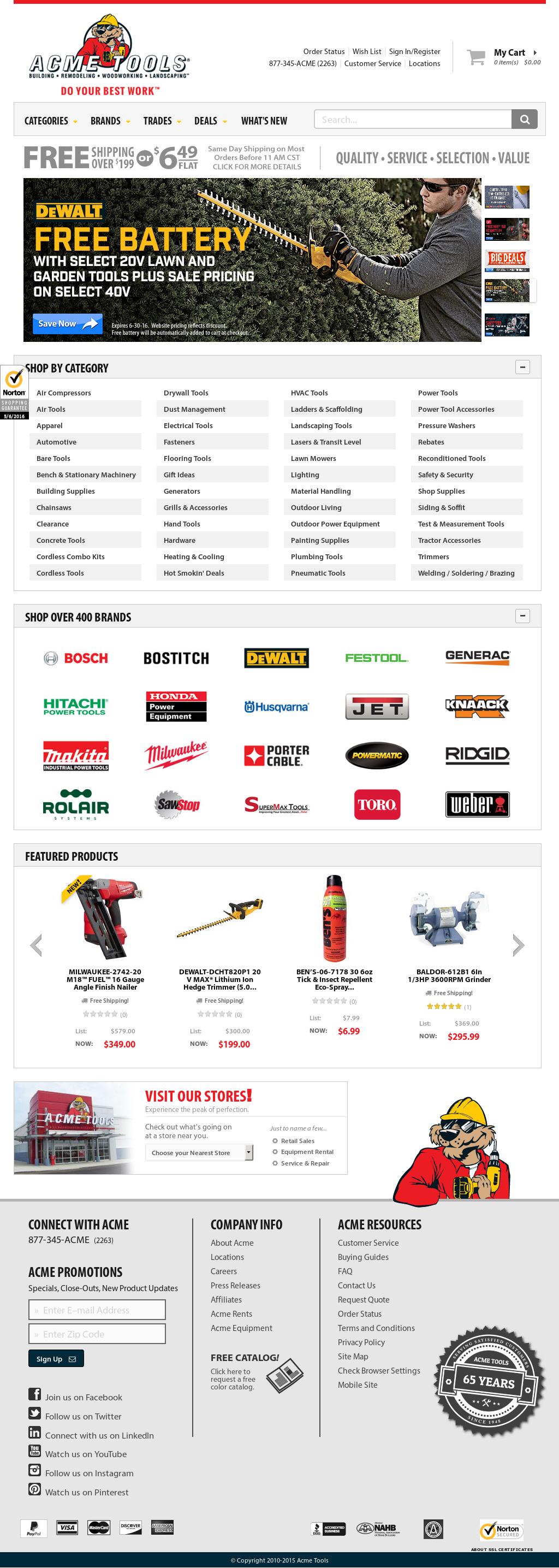 Owler Reports - Acme: Acme Tools Store Tour