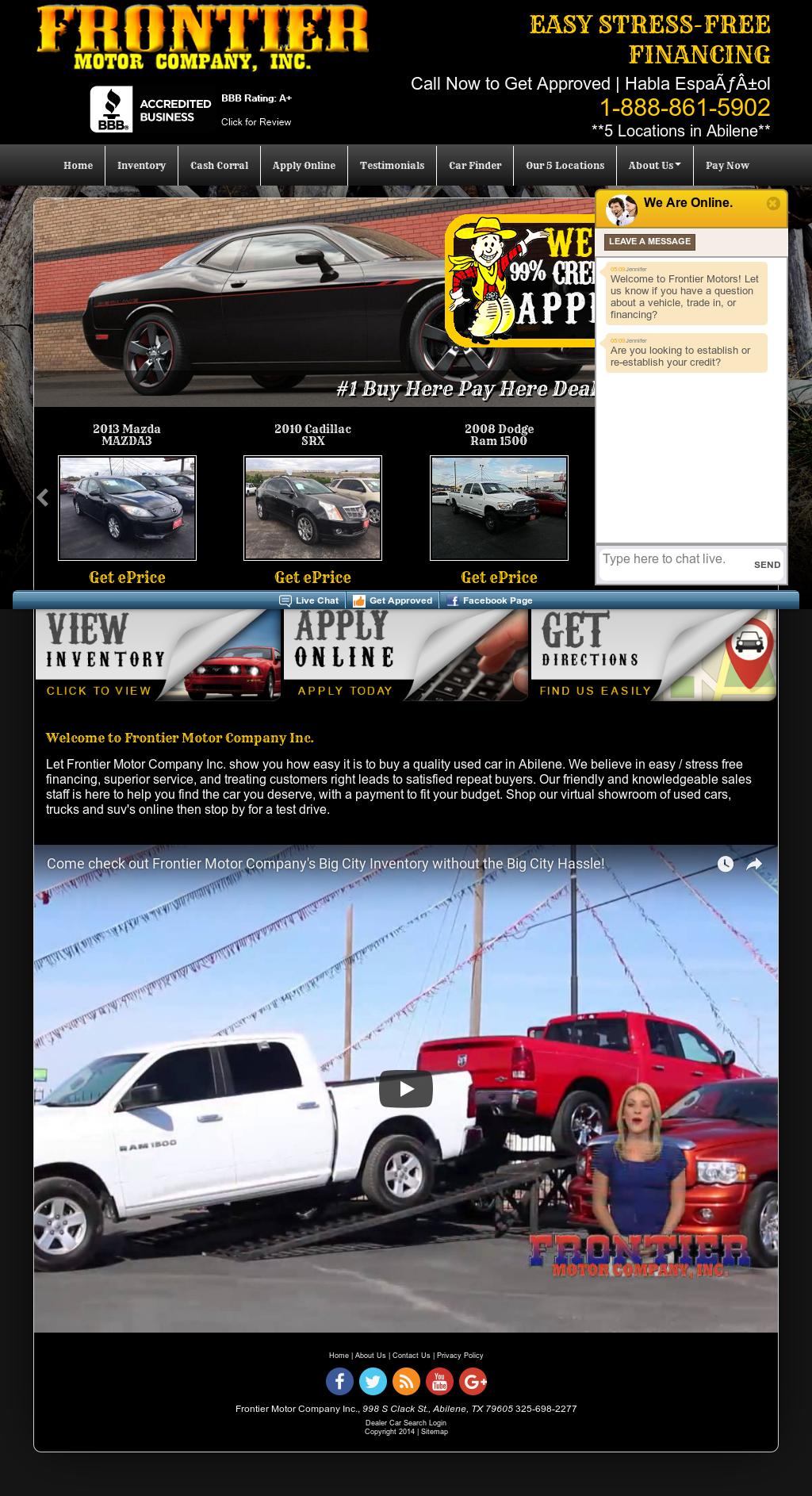 Arrow Ford Abilene >> Frontier Motors Abilene Texas - impremedia.net