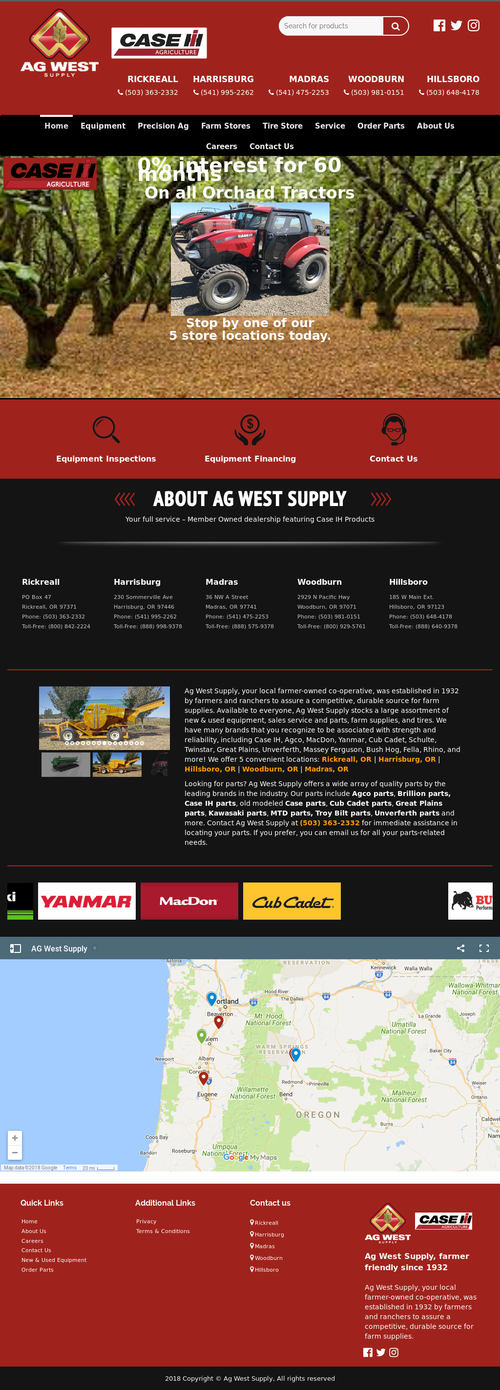 Ag West Supply >> Ag West Supply Competitors Revenue And Employees Owler