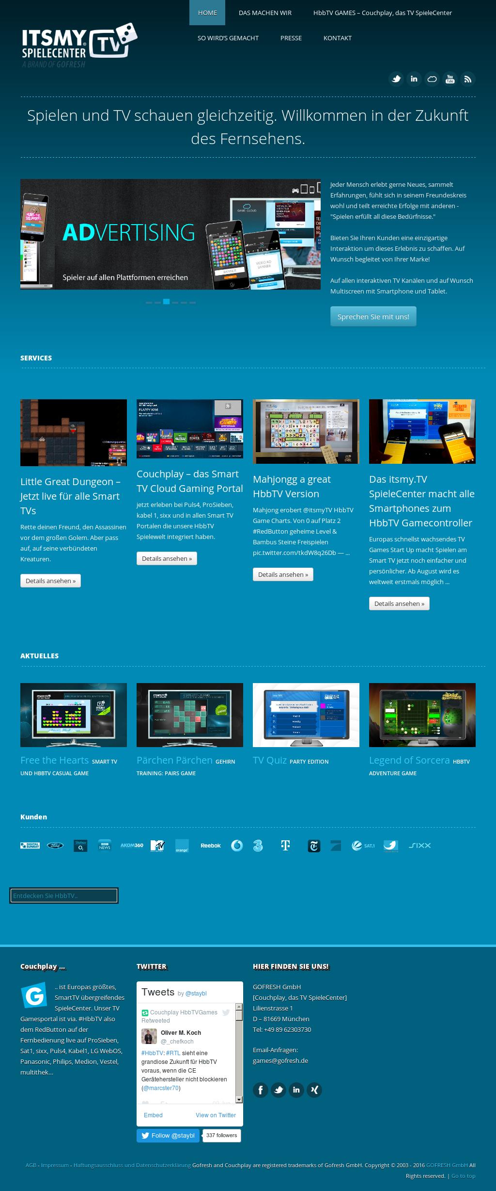 Owler Reports - Itsmy tv Spielecenter Blog HbbTV Video of