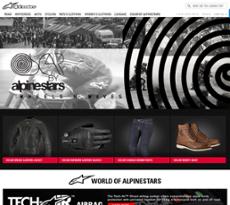 Alpinestars website history