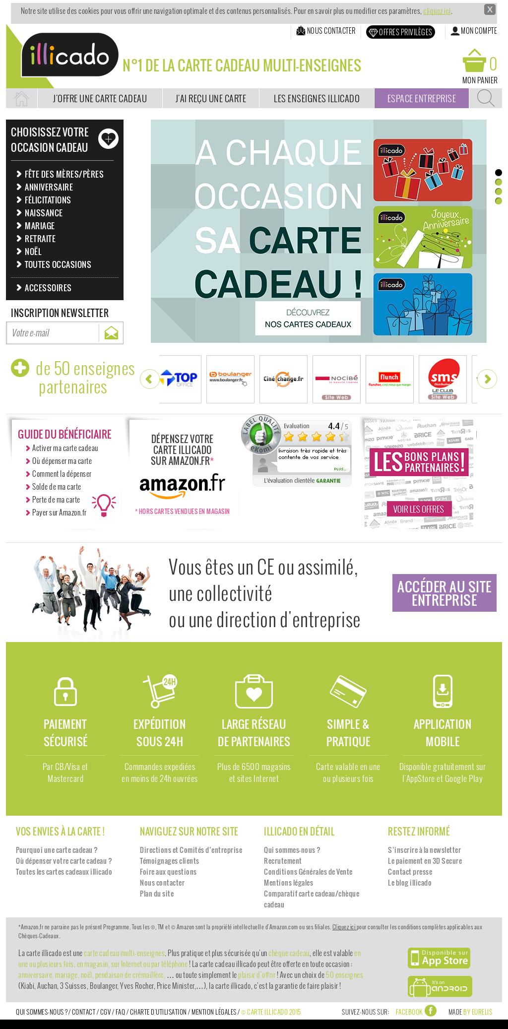 Carte Cadeau Illicado Competitors Revenue And Employees