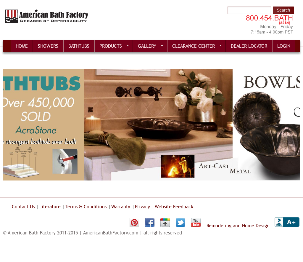 American Bath Factory Competitors, Revenue and Employees - Owler ...