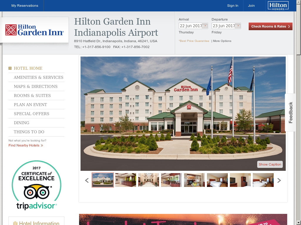 hilton garden inn indianapolis airport website history - Hilton Garden Inn Indianapolis Airport