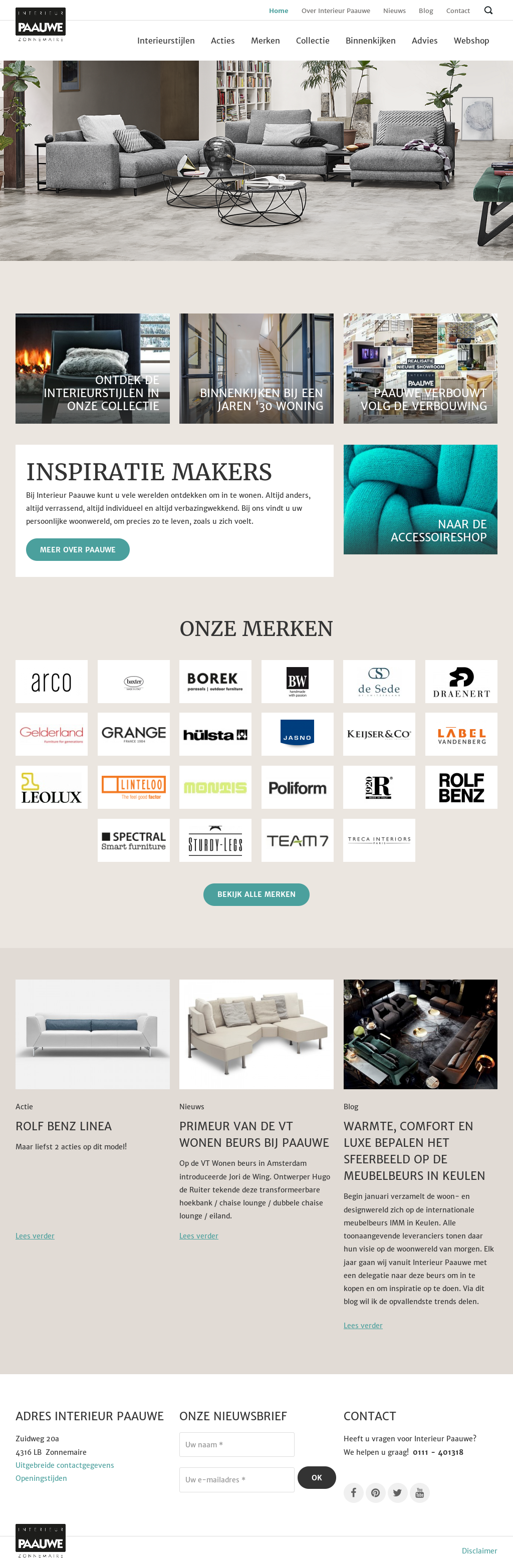 interieur paauwe zonnemaire competitors revenue and employees owler company profile