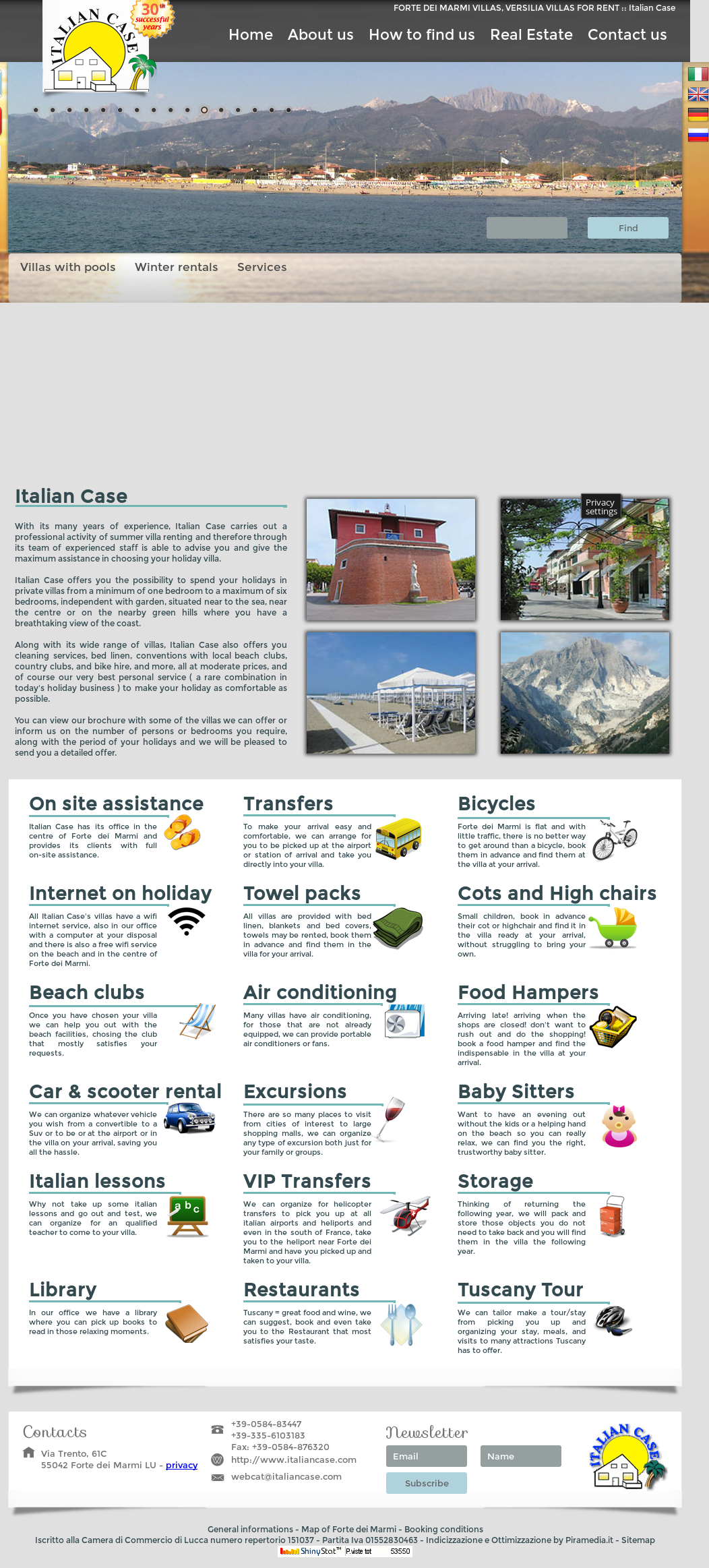 Italian Case Forte Dei Marmi italian case villa holidays competitors, revenue and