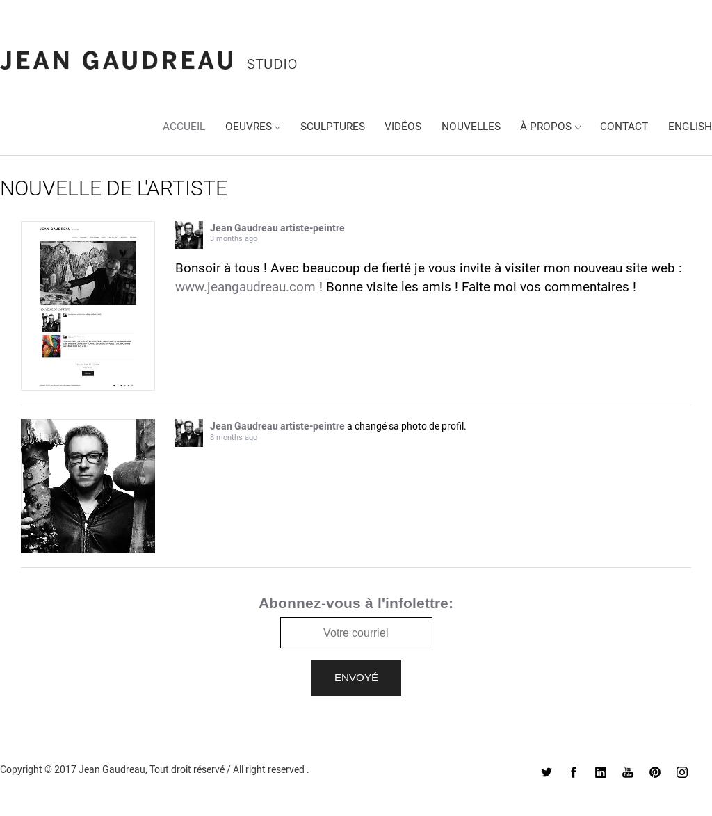 Site Des Artistes Peintres jean gaudreau artiste-peintre competitors, revenue and