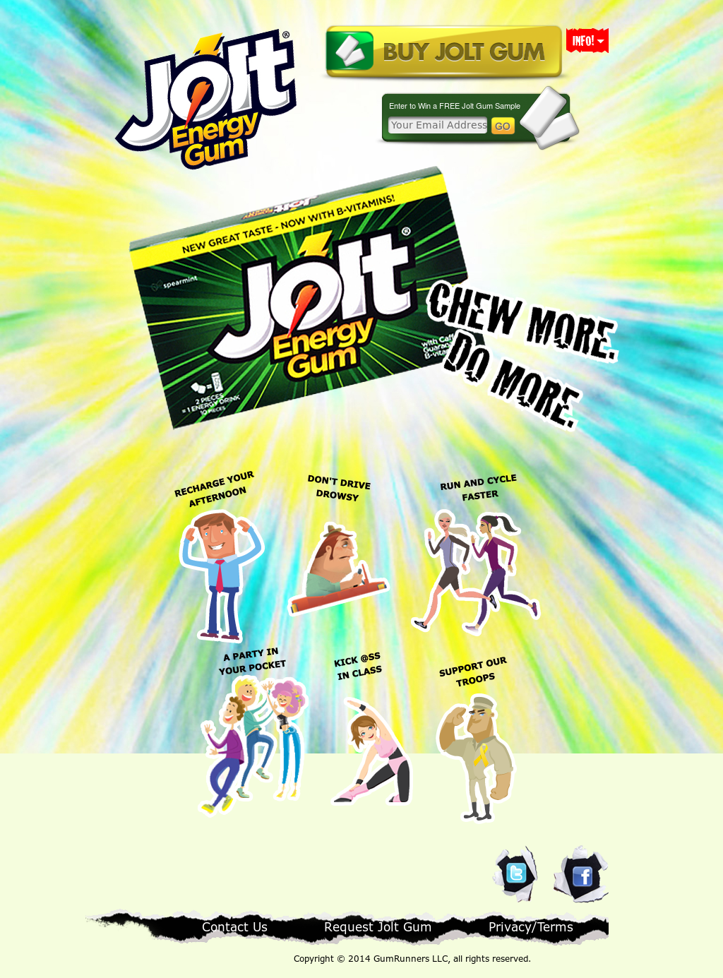 Image result for jolt energy gum
