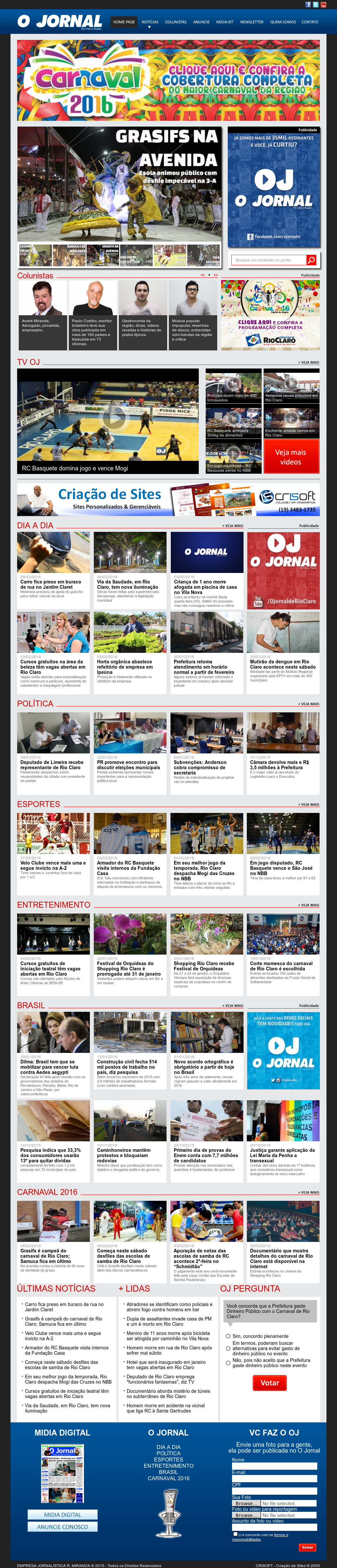 Jornalrioclaro Competitors, Revenue and Employees - Owler