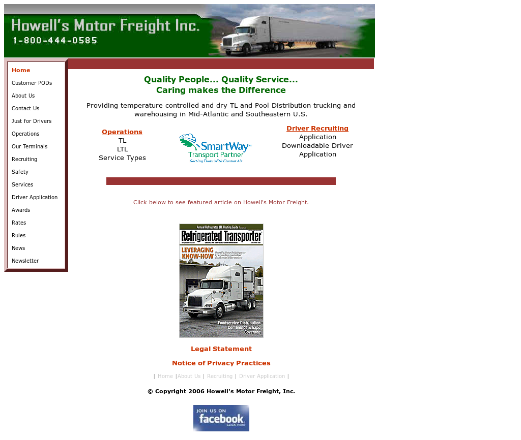 Howell's Motor Freight Competitors, Revenue and Employees - Owler Company Profile