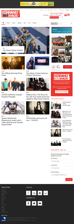 Kerrang dating prijzen