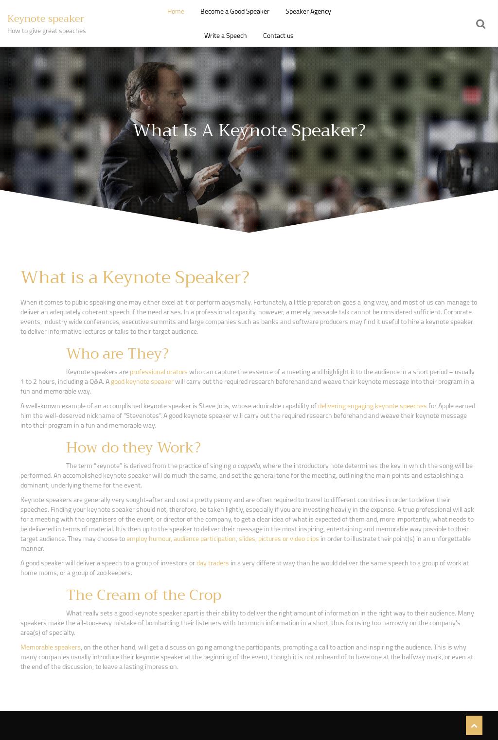 Keynote Speaker Motivational Competitors, Revenue and