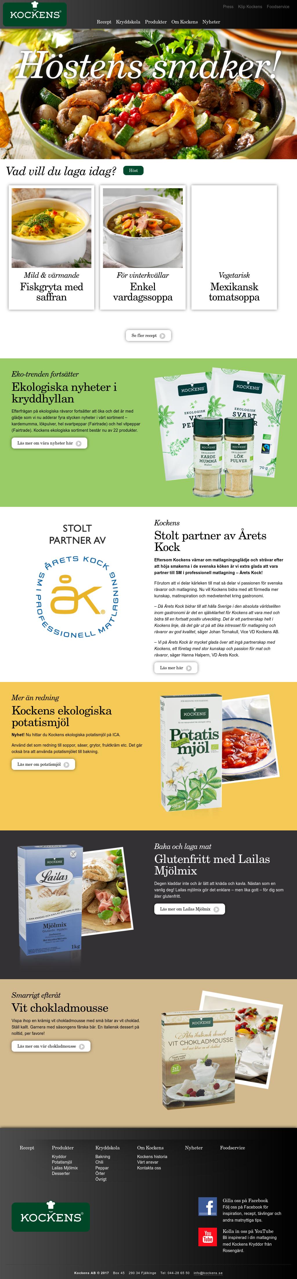 Kockens kryddor online dating