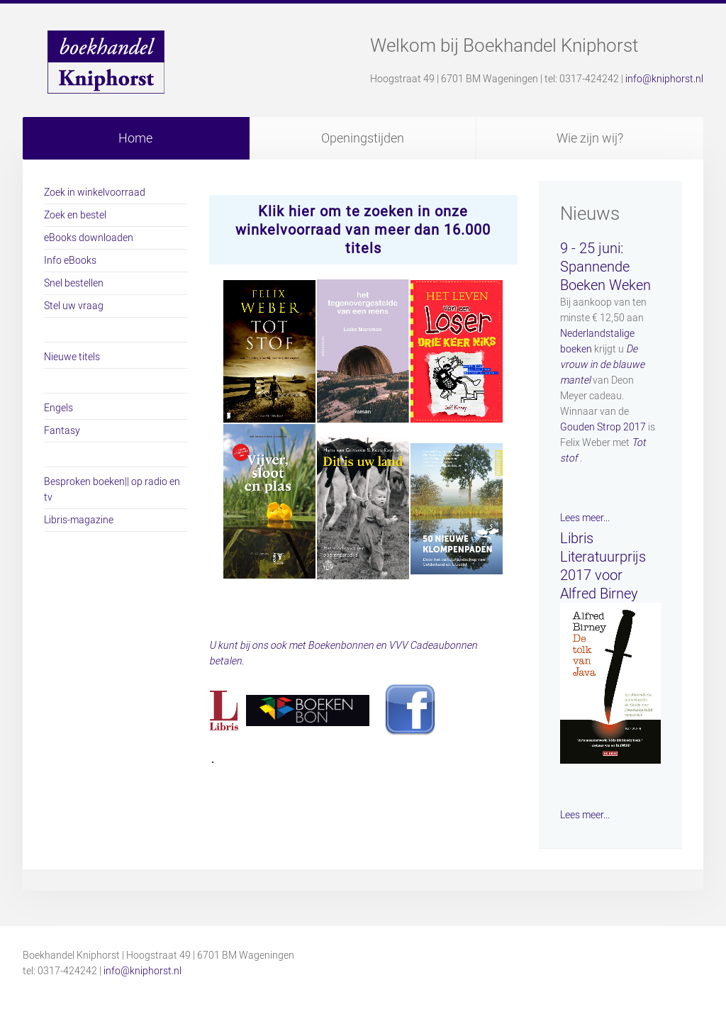boekhandel kniphorst