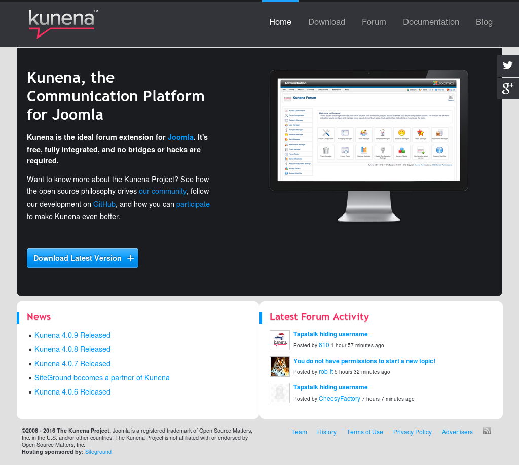 Kunena Competitors, Revenue and Employees - Owler Company