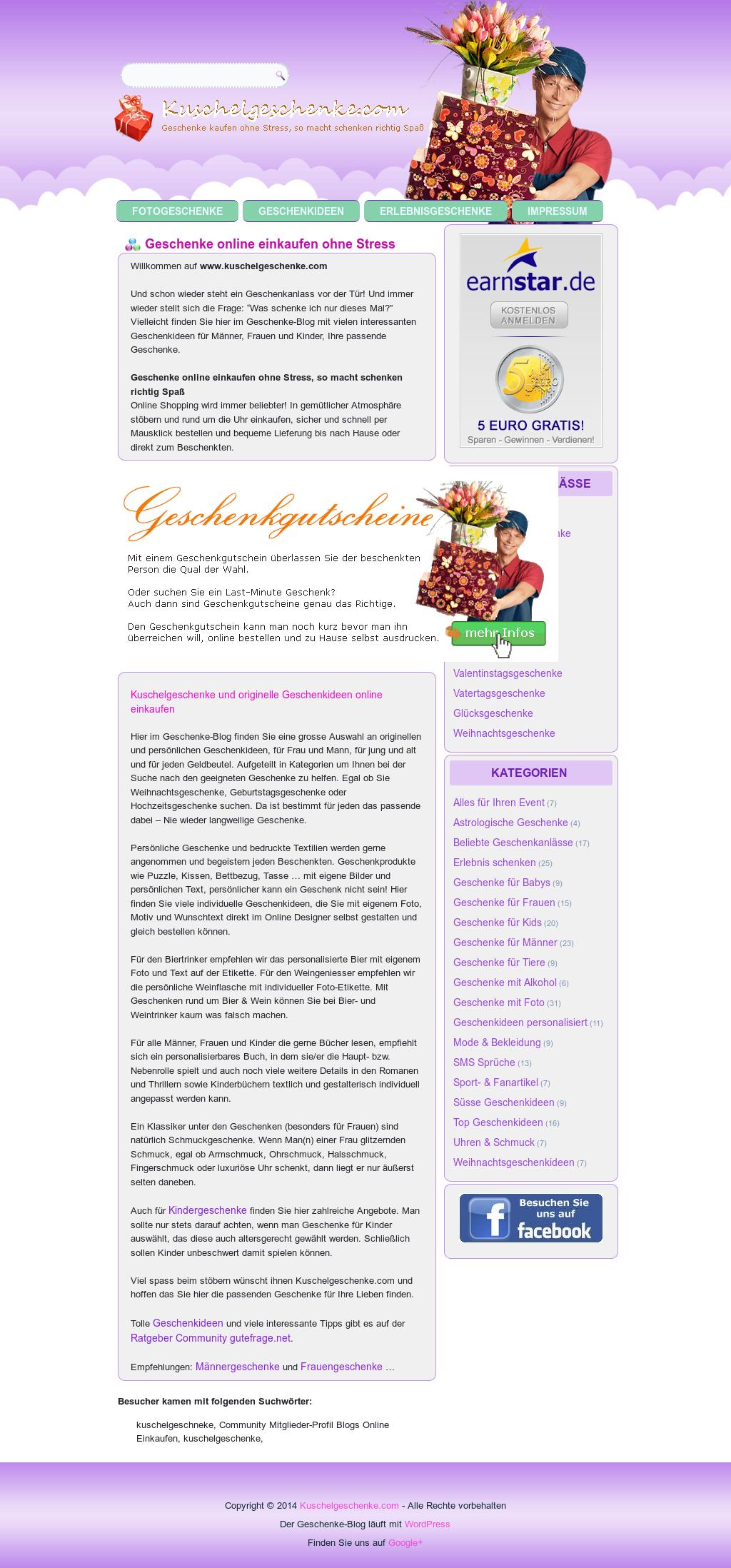 kuschelgeschenke, sicher online einkaufen's competitors