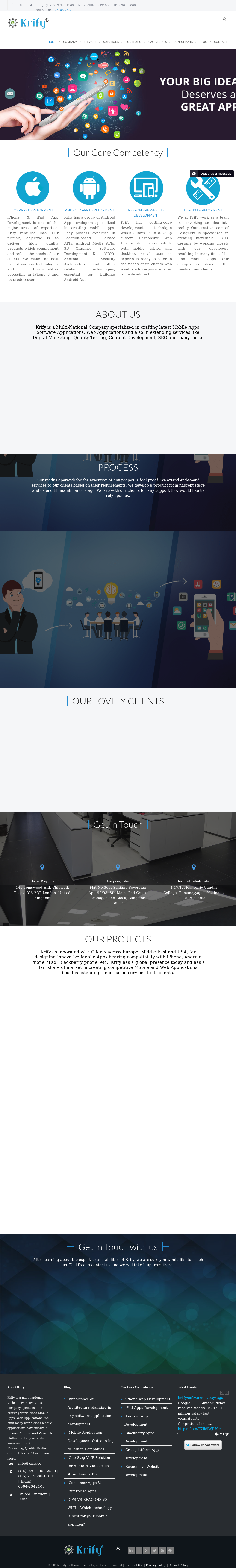 Krify Competitors, Revenue and Employees - Owler Company Profile