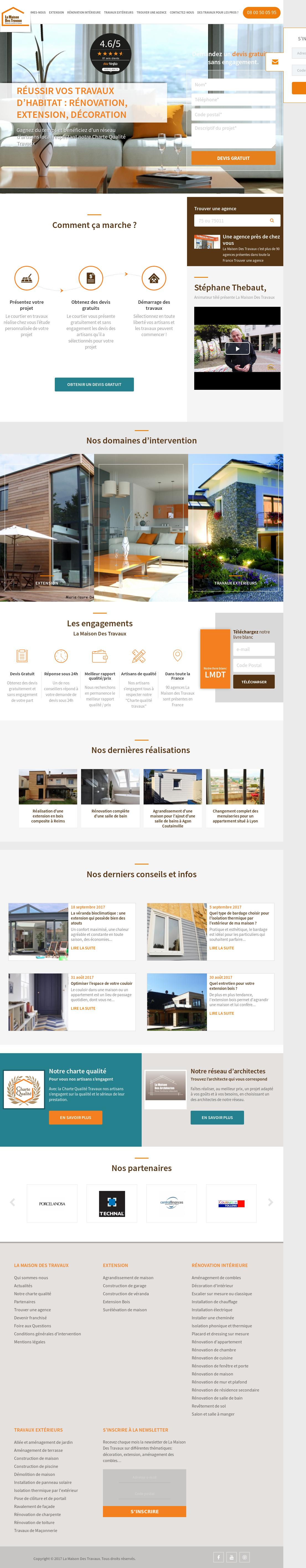 Maison Des Travaux Avis lamaisondestravaux competitors, revenue and employees