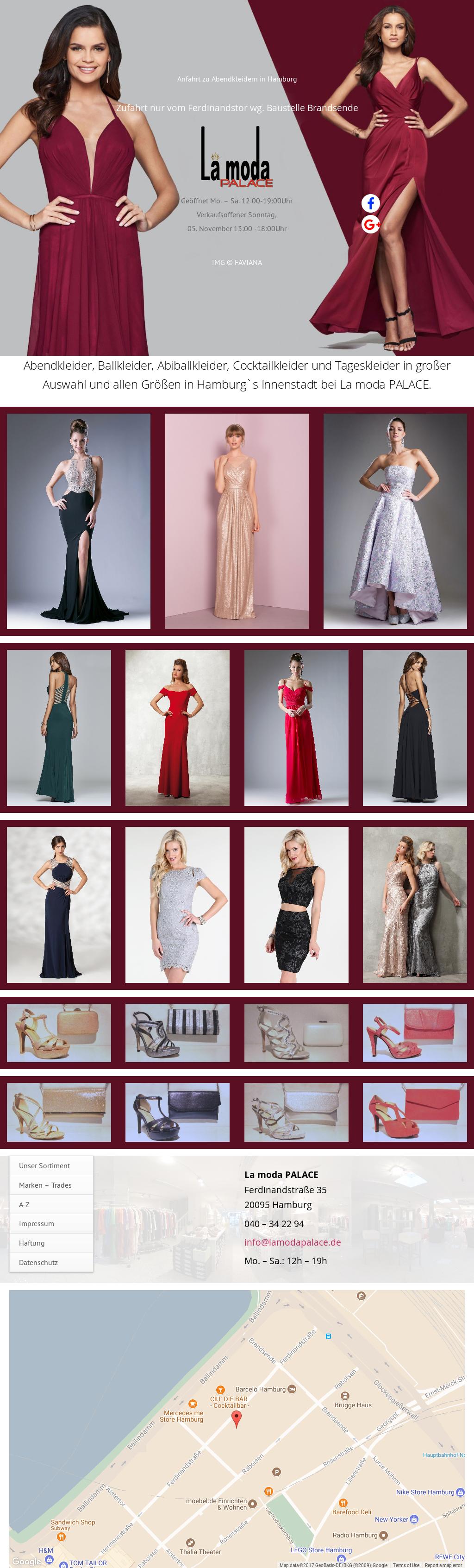 La Moda Palace Abendkleider Competitors, Revenue and Employees