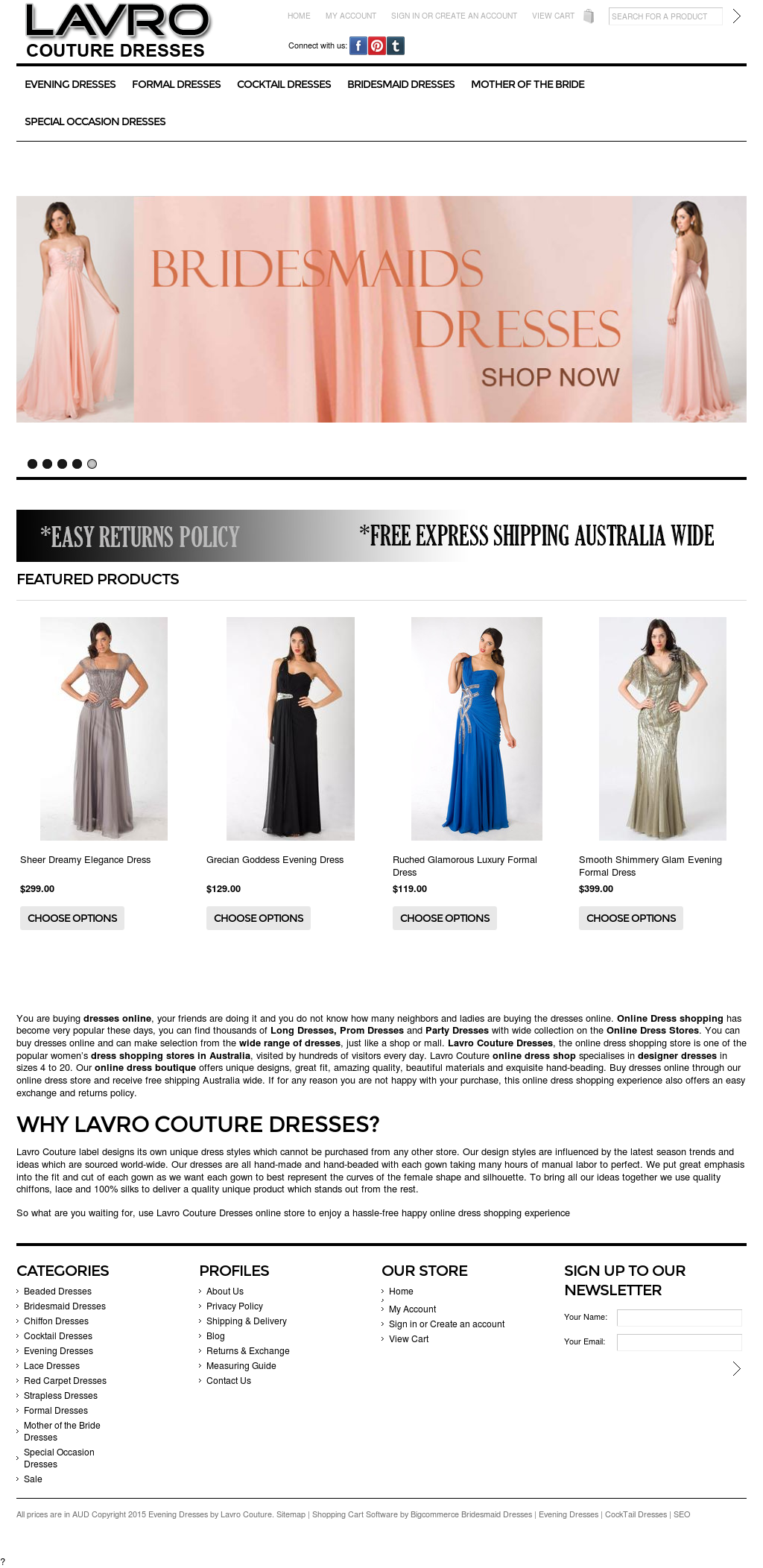 Lavro Haute Couture Competitors, Revenue and Employees