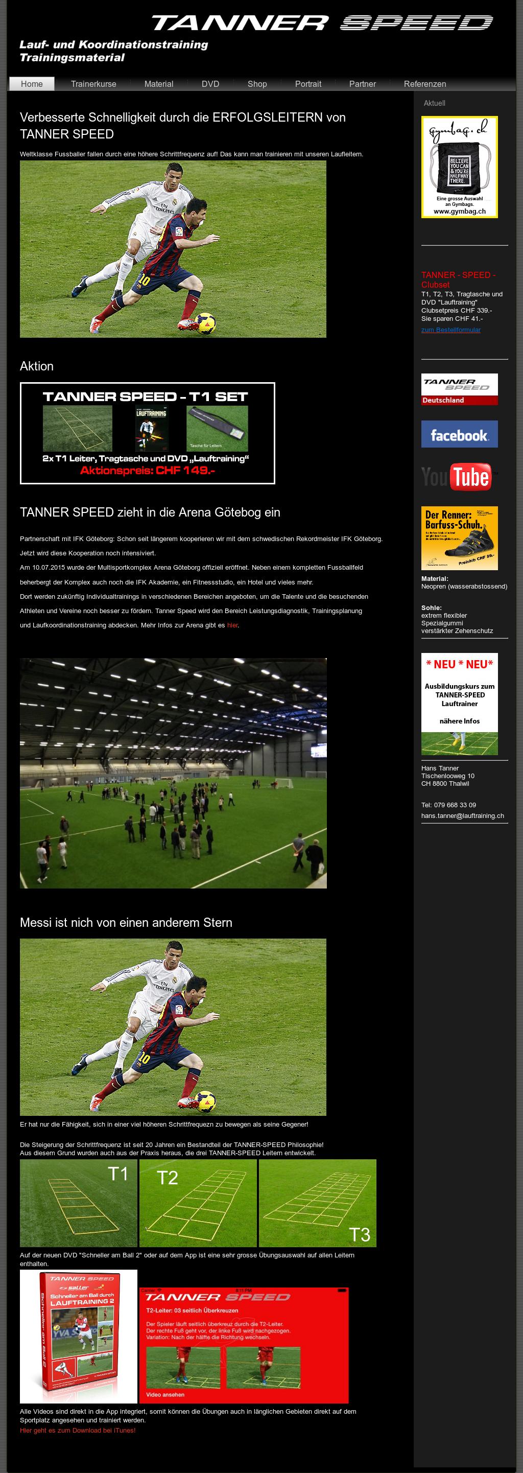 Tanner Speed Lauftraining Competitors Revenue And