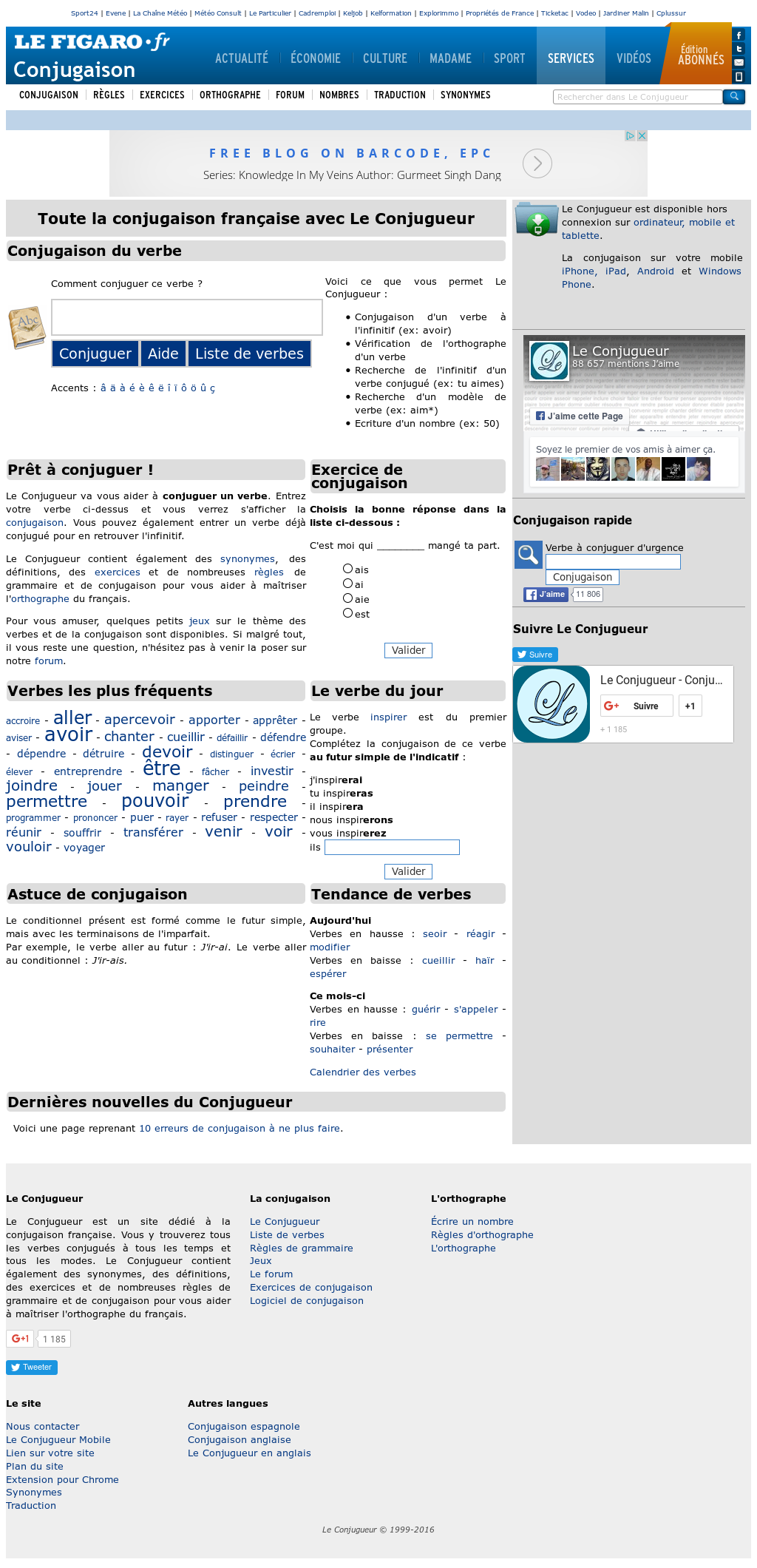 Le Conjugueur S Competitors Revenue Number Of Employees Funding Acquisitions News Owler Company Profile