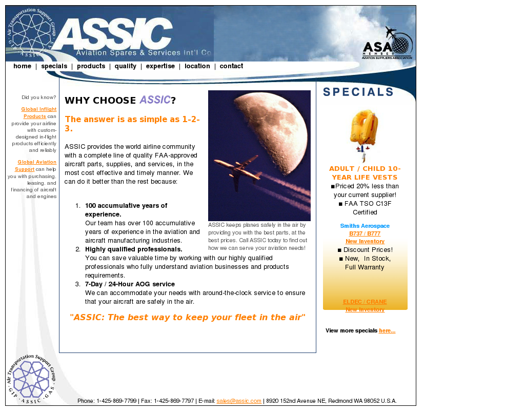 Ass Ic assic competitors, revenue and employees - owler company profile