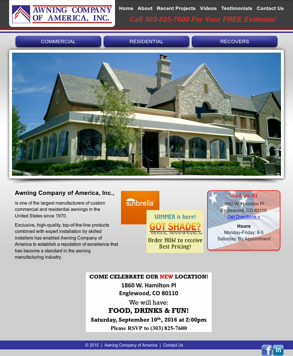Awning Company Compeors Revenue And Employees Owler Profile