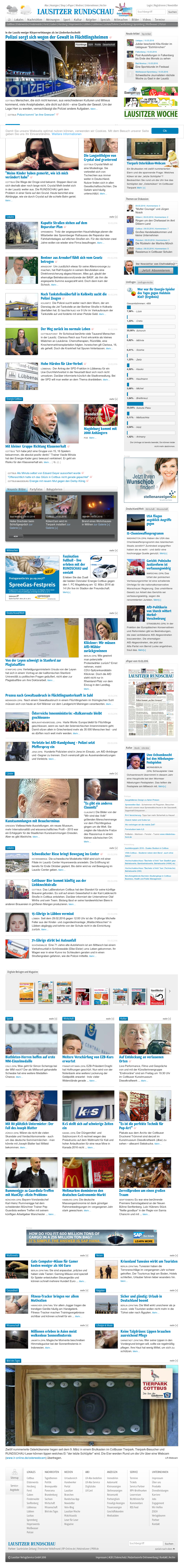 lausitz news heute
