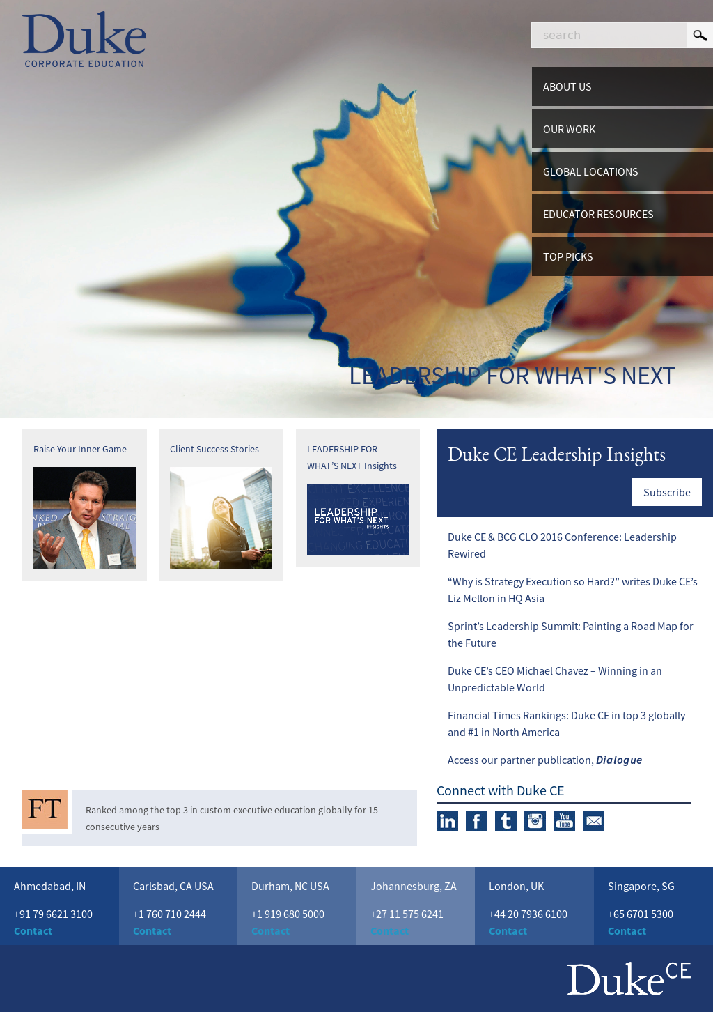 Duke CE Competitors, Revenue and Employees - Owler Company Profile