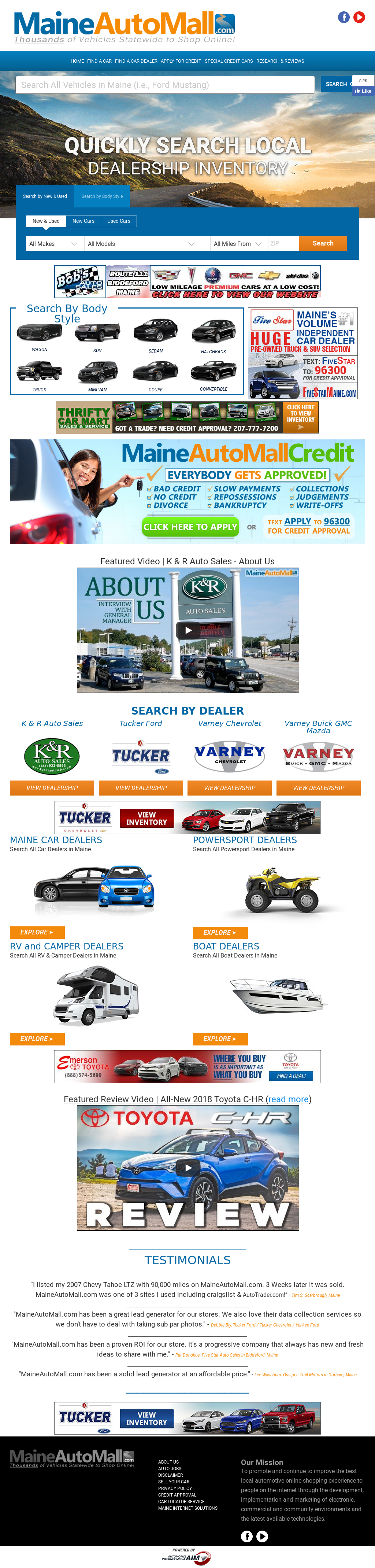 Maineautomall Competitors, Revenue and Employees - Owler