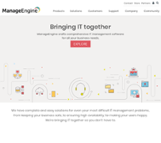 ManageEngine Competitors, Revenue and Employees - Owler