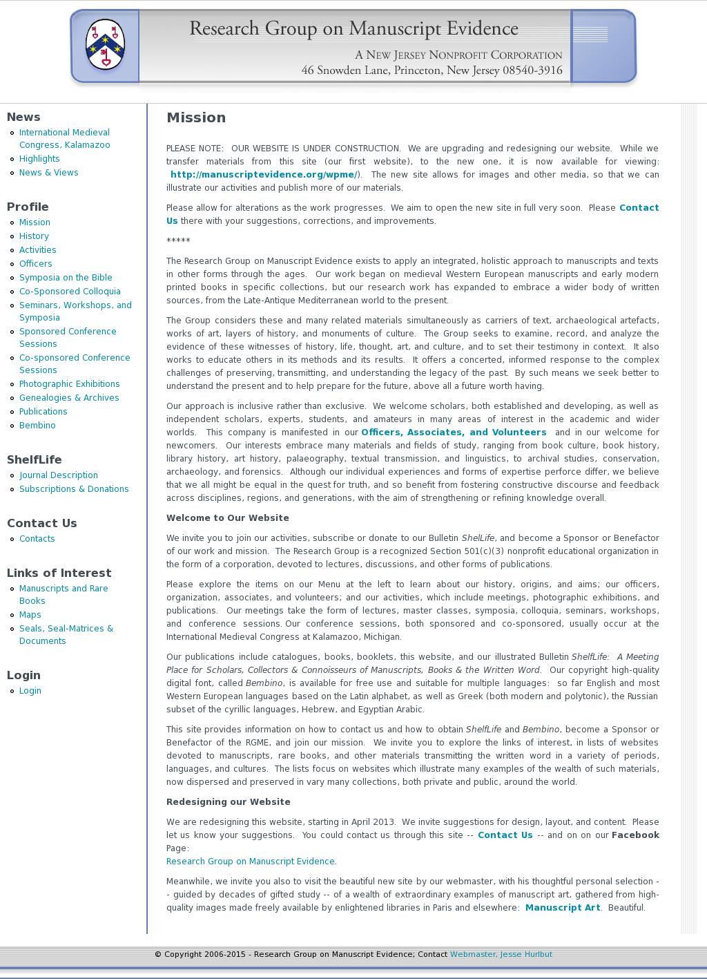 Research Group On Manuscript Evidence Competitors, Revenue